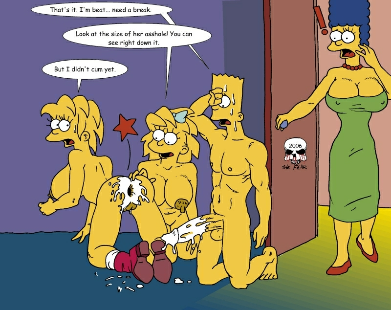 naked simpson with bart marge Scp-963-2