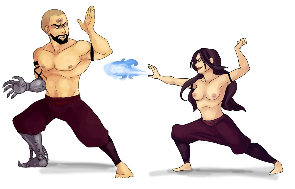 last combustion man the airbender Ookami san & her seven companions