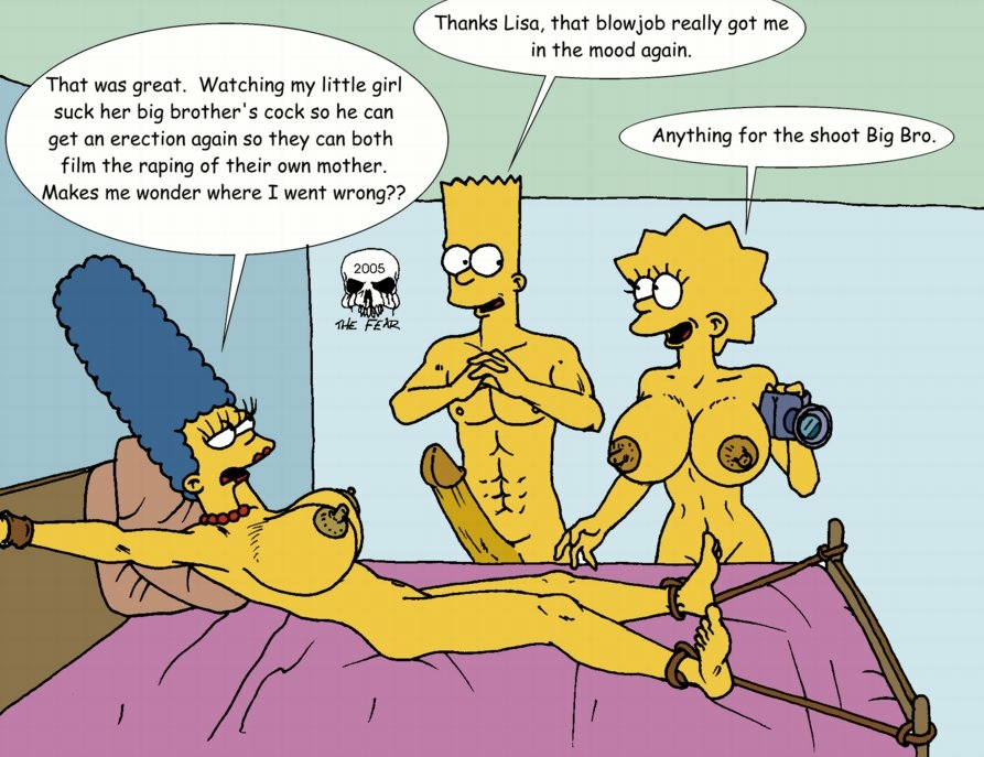 naked with bart marge simpson Ghost in the shell ishikawa