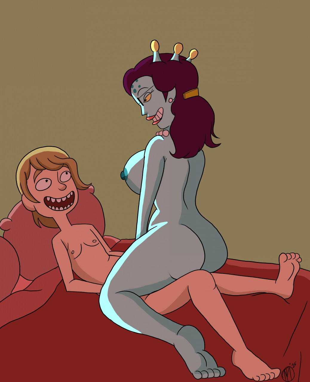 summer morty naked rick and Risk of rain 2 artificer