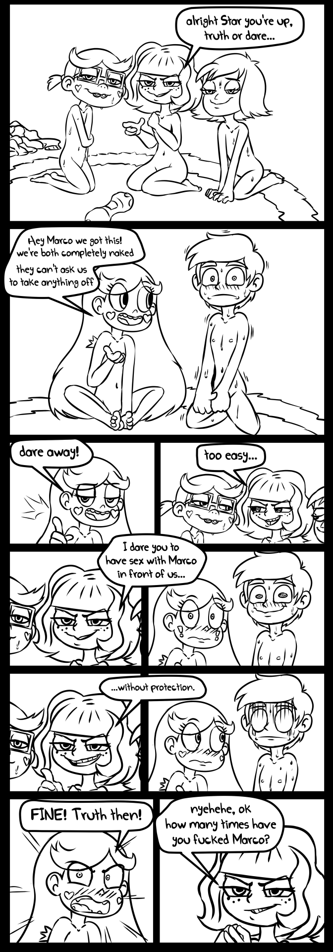 the vs evil comic star of starco forces Fable how to have intercourse