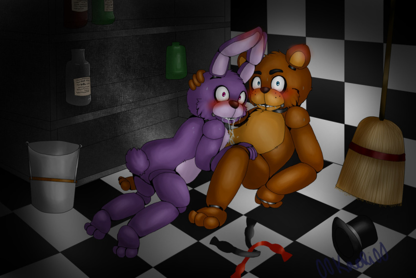 nights freddy's five at bonnie pictures (x_x)