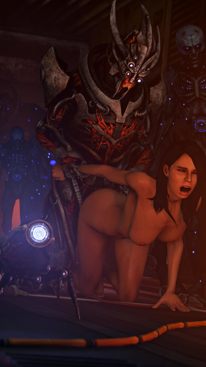 mass effect 2 Nothing is more badass than treating a woman with respect